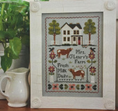 "Схема для вышивки Little House Needleworks ""Mrs. O'leary's Dairy Farm"""