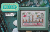 "Схема для вышивки Hands On Design ""To The Beach Series: Flock Together"""