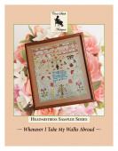 "Схема для вышивания Cross Stitch Antiques ""Whenever I Take My Walks Abroad"""