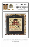 "Схема для вышивки Little House Needleworks ""Pumpkin Patch Inn"""
