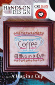 "Схема для вышивки Hands On Design ""Cool Beans: A Hug in a Cup"""