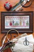"Схема для вышивки Heartstring Samplery ""Cross Stitch Nation"""