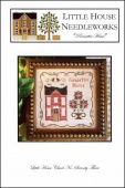 "Схема для вышивки Little House Needleworks ""Poinsettia House"""