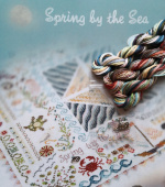 "Комплект нитей для Jeannette Douglas Designs ""Spring by the Sea - Seasonal Set 1"""