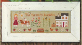 "Схема для вышивки Little House Needleworks ""The Farmer's Daughter"""