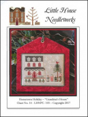 "Схема для вышивки Little House Needleworks ""Hometown Holiday: Grandma's House"""