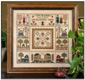 "Схема для вышивки Little House Needleworks ""Orchard Valley Quilting Bee"""