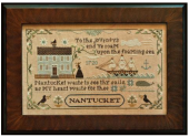 "Схема для вышивки Little House Needleworks ""Old Nantucket"""