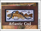 "Схема для вышивания Carriage House Samplings ""Atlantic Cod"""