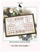 "Схема для вышивания Cross Stitch Antiques ""Six Little Girls Sampler"""