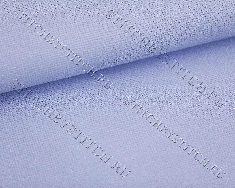 Голубая канва для вышивки крестом