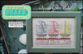 "Схема для вышивки Hands On Design ""To The Beach Series: Adjust Your Sails"""