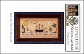 "Схема для вышивки Little House Needleworks ""Sailing, Sailing"""