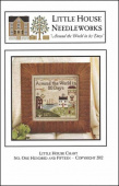 "Схема для вышивки Little House Needleworks ""Around The World In 80 Days"""