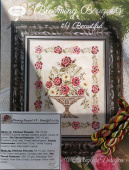 "Комплект нитей для Jeannette Douglas Designs ""Blooming Bouquets #4 Beautiful"""