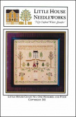 "Схема для вышивки Little House Needleworks ""New England Winter Sampler"""