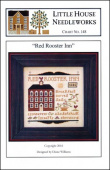 "Схема для вышивки Little House Needleworks ""Red Rooster Inn"""