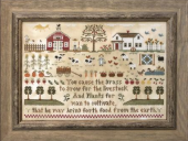 "Схема для вышивки Little House Needleworks ""Farm Life"""