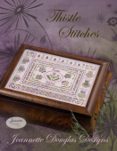 "Схема для вышивания Jeannette Douglas Designs ""Stitches Series - Thistle Stitches"""