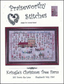 "Схема для вышивания Praiseworthy Stitches ""Kringle's Christmas Tree Farm"""