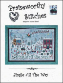 "Схема для вышивания Praiseworthy Stitches ""Jingle All The Way"""