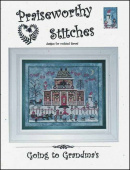 "Схема для вышивания Praiseworthy Stitches ""Going To Grandma's"""