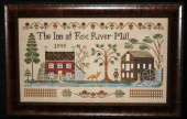 "Схема для вышивки Little House Needleworks ""The Inn At Fox River Mill"""
