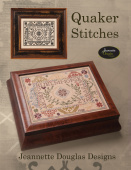 "Схема для вышивания Jeannette Douglas Designs ""Stitches Series - Quaker Stitches"""