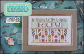 "Схема для вышивки Hands On Design ""To The Beach Series: Row"""