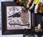 "Комплект нитей Needlepoint Silk для Kathy Barrick ""Peace on Earth"""
