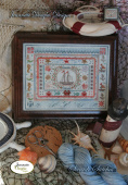 "Схема для вышивания Jeannette Douglas Designs ""Stitches Series - Seaside Stitches"""