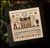 "Схема для вышивки Little House Needleworks ""Colonial Welcome"""