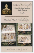 "Схема для вышивки Scattered Seed Samplers ""Kindred Hearts Needlekeeper"""