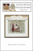 "Схема для вышивки Little House Needleworks ""Curly Q Ewe"""