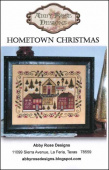 "Схема для вышивки Abby Rose Designs ""Hometown Christmas"""
