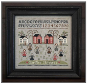 "Схема для вышивки Little House Needleworks ""Sampler Stitchers"""