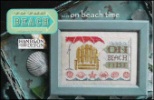 "Схема для вышивки Hands On Design ""To The Beach Series: On Beach Time"""
