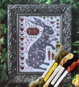 "Комплект нитей Needlepoint Silk и The Thread Gatherer Silk для Kathy Barrick ""Rodney"""