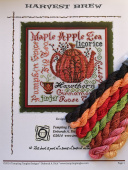 "Комплект нитей Dinky Dyes Silk для Tempting Tangles Designs ""Harvest Brew"""