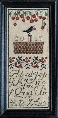 Схема вышивки la-d-da