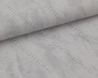 Канва 32 ct. Vintage Murano 3984/7729 (серый неоднотонный) Vintage Gray/Vintage Marbree Gris - Стежок за Стежком вышивка, канва, схемы для вышивки крестом